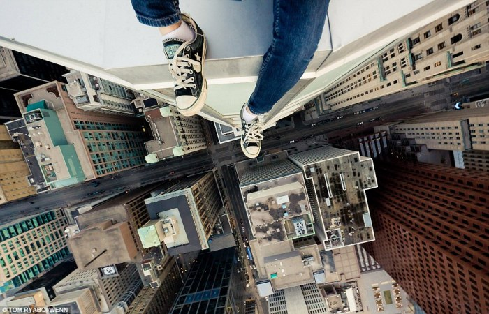 Just don't look down  1